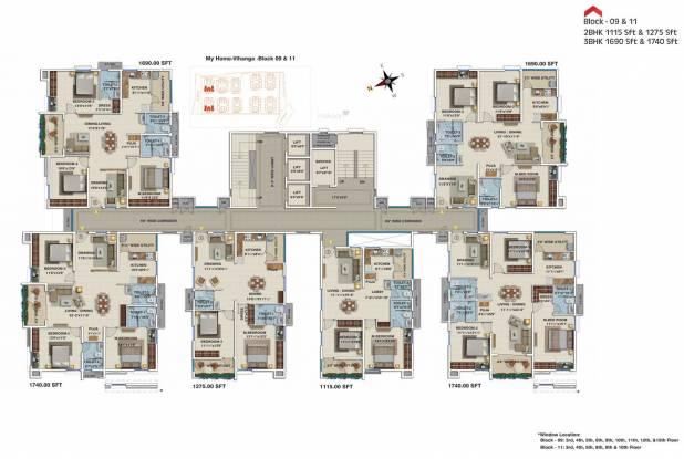 My Home Vihanga Cluster Plan