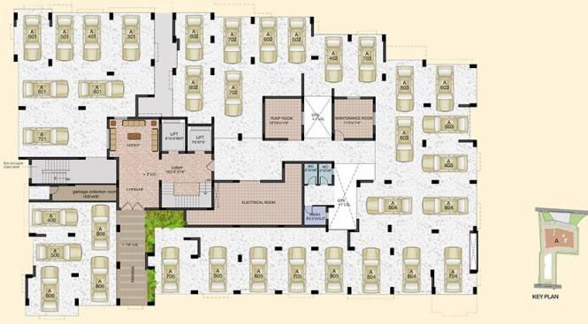 Akshaya Trichy Rich Cluster Plan