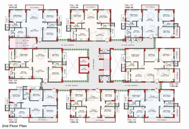 Indu The Annexe Cluster Plan