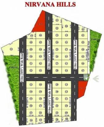Aaryan Nirvana Hills Site Plan