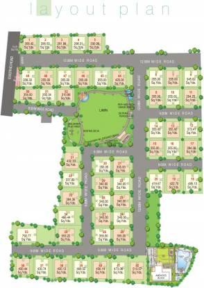 Sri Aditya Fort View Layout Plan