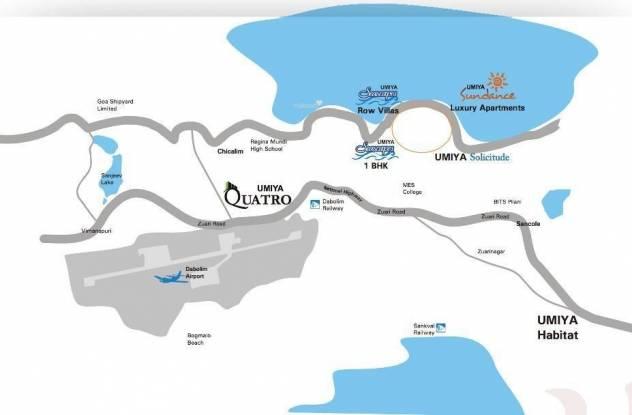 Umiya Quatro Location Plan