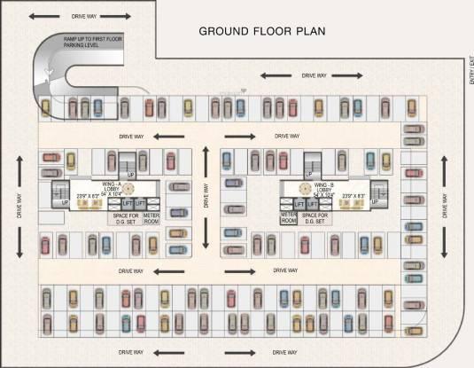 Paradise Sai Riverdale Cluster Plan