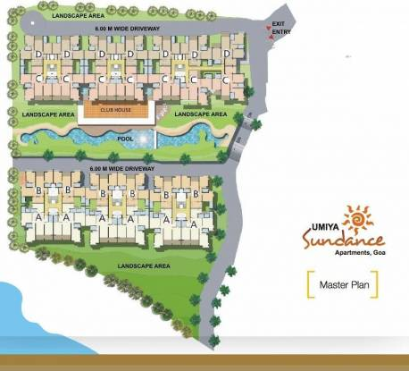 Umiya Sundance Apartments Master Plan