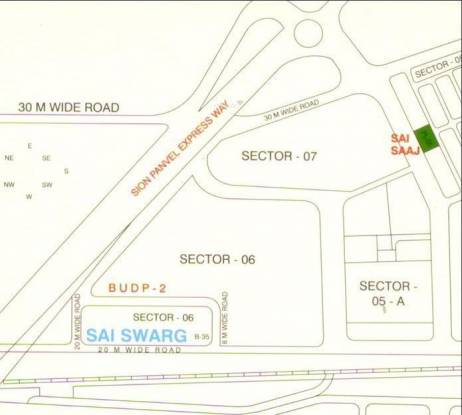 Paradise Sai Swarg Location Plan