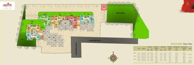 Ashtvinayak Aarambh Cluster Plan