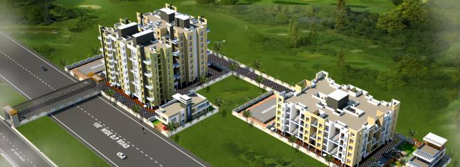 Pratham Yash Residency Elevation