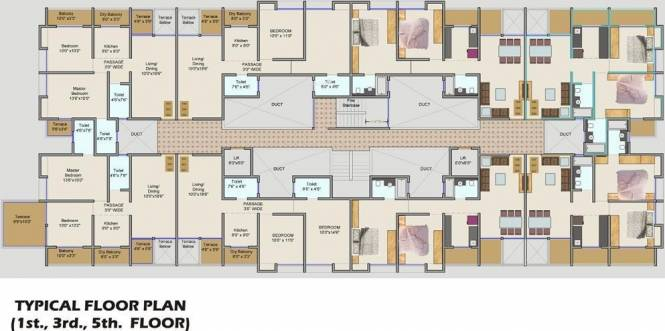 Imperial Alassio Ressidency Cluster Plan