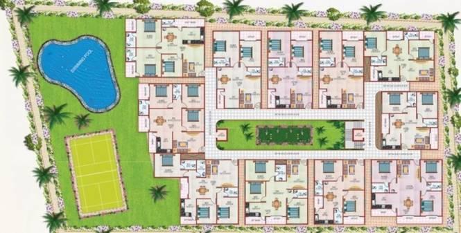 ATZ Palatial Cluster Plan