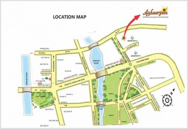 Wall Aishwaryam Location Plan