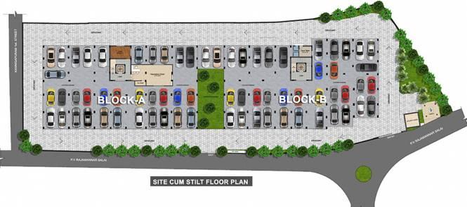 Kanya Park View Cluster Plan