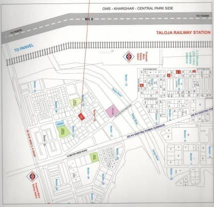 Dwisha Classic Tower Location Plan