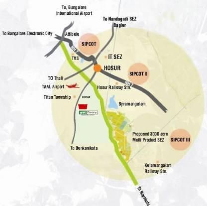 MSK Gold Nest Location Plan