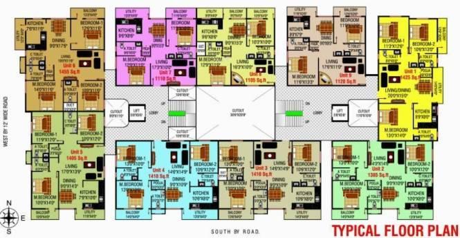 MSK Lakvin Shelters Cluster Plan