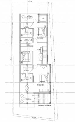 Shriram Gokul Individual House Cluster Plan