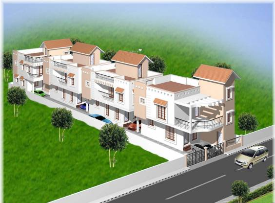Shriram Gokul Individual House Elevation