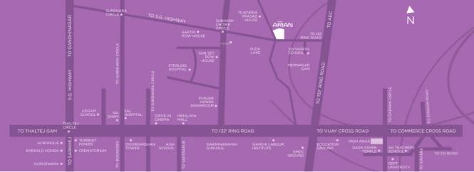 Yash Arian Location Plan