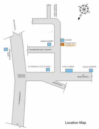 Marian Chalet Location Plan
