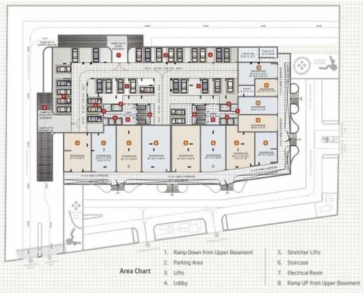 Adarsh Sky Terraces Cluster Plan