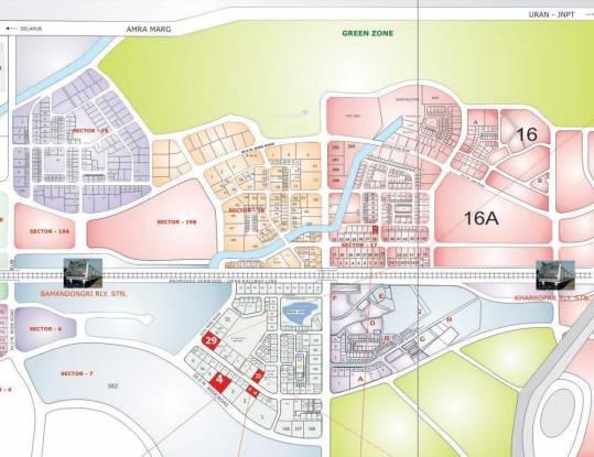 Bhagwati Sky Oasis Location Plan