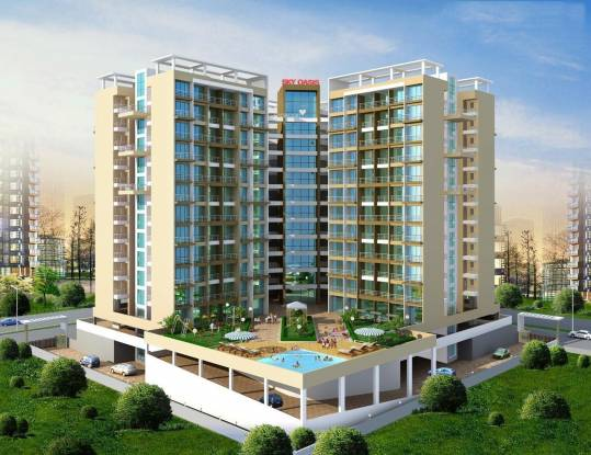 Bhagwati Sky Oasis Elevation
