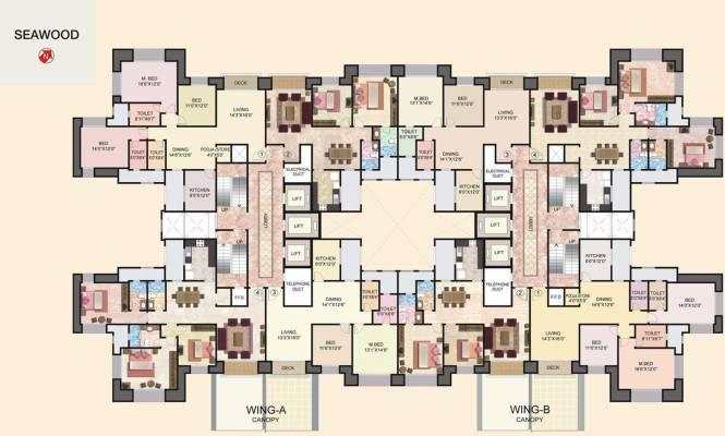 Hiranandani Seawood Cluster Plan
