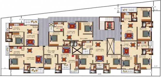 Arihant Maruthi Nandan Cluster Plan