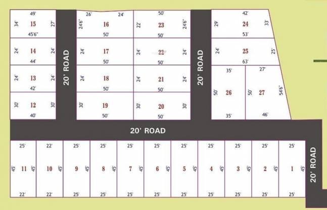 ATS Thendral Nagar Layout Plan