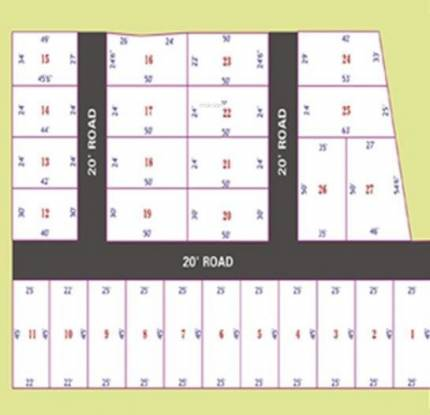 ATS Thendral Nagar Site Plan