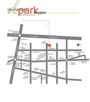 Devnandan Devnandan Park Location Plan