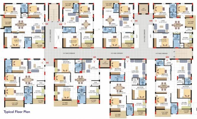 Lore Asvasidh Towers Cluster Plan