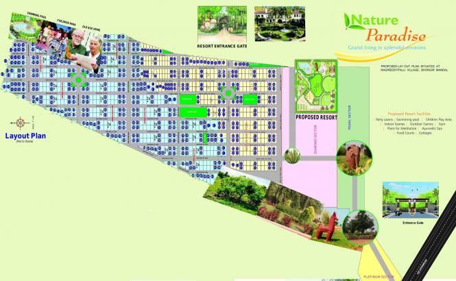 Nature Paradise Layout Plan