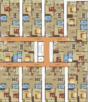 Navajyothi Athithi Grand Cluster Plan