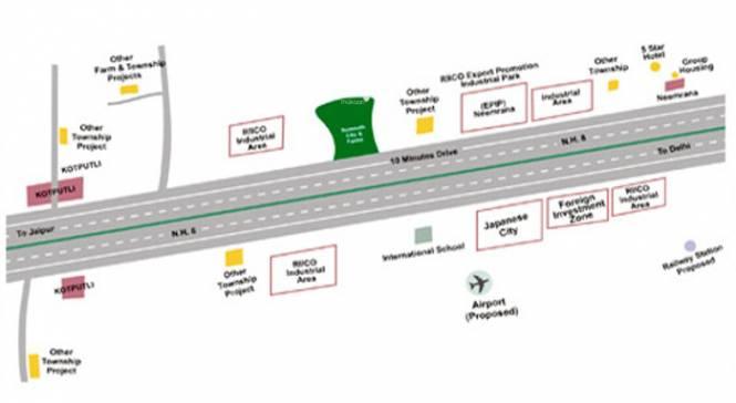 Somnath City Location Plan