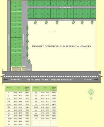 Royal Royal Avenue Layout Plan