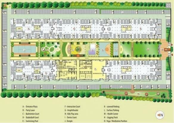 SSG Shankra Residency Layout Plan