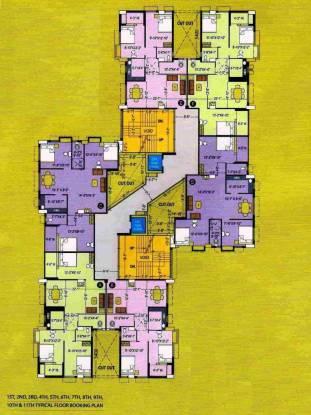 Parsrampuria Mohan Tower Layout Plan