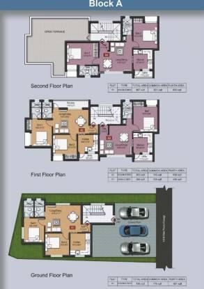 Siraj Anurag Garden Cluster Plan