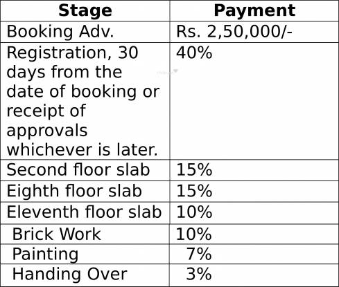 Sri Maple Wood Payment Plan