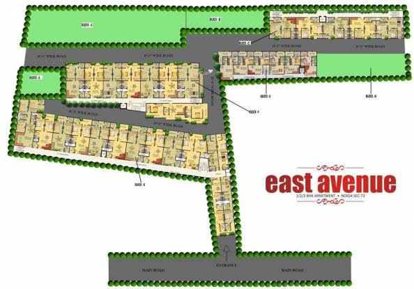 Uday East Avenue Site Plan