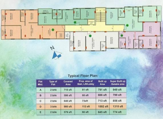 4Walls Chaya Neer Cluster Plan