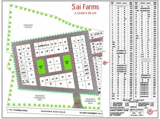 Sai Plot Layout Plan