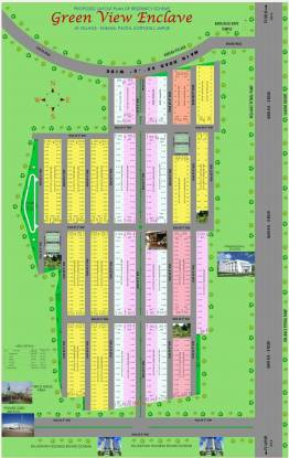 Goyal Green View Enclave Layout Plan