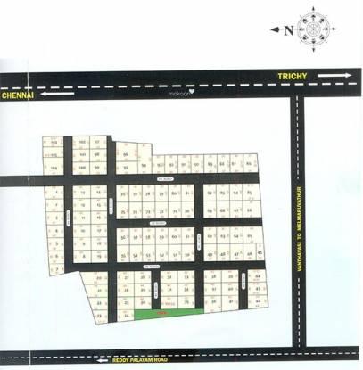 Sri Selva Ganpathi Nagar Layout Plan