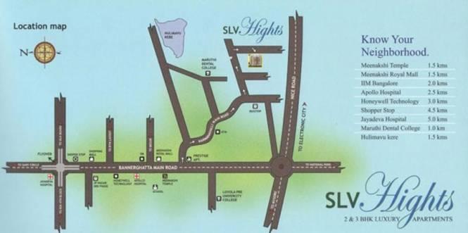 Dreamciti SLV Heights Location Plan