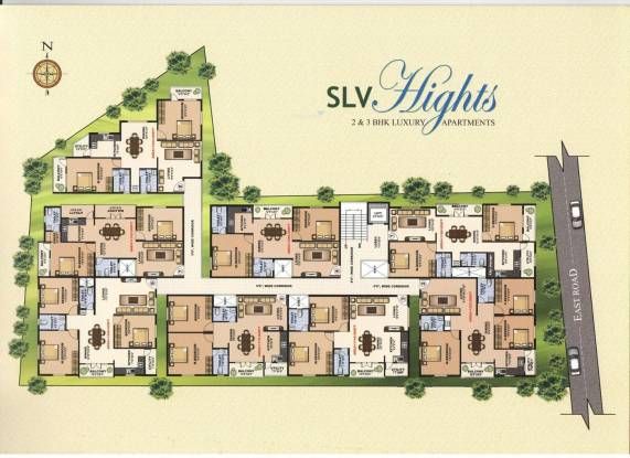 Dreamciti SLV Heights Site Plan