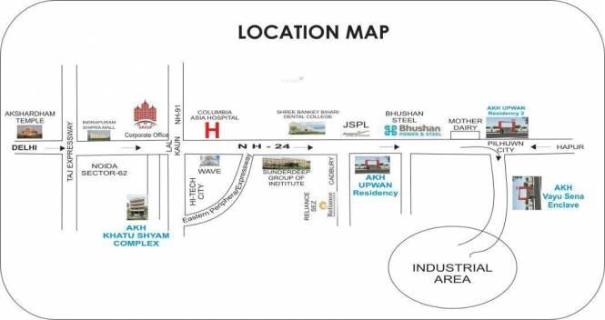 AKH Khatu Shyam Complex Location Plan
