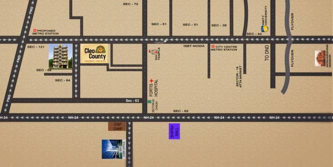 AKH Royal Apartment Location Plan