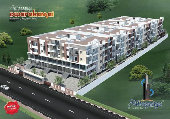 Shivaganga Dwarkamai Elevation