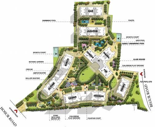 Salarpuria Sattva Greenage Phase II Master Plan